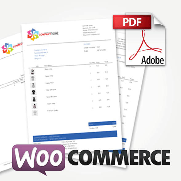 WooCommerce PDF Invoices Packing Slips Premium Templates - Woocommerce invoice system